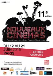 Affiche 11ème Festival des Nouveaux Cinémas