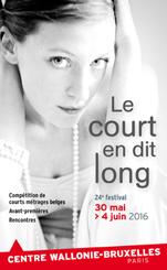 Affiche Festival Le Court en Dit Long 2016