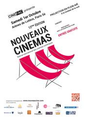 Affiche Projection Nouveaux Cinémas aux Arènes de Lutèce 1er octobre 2016