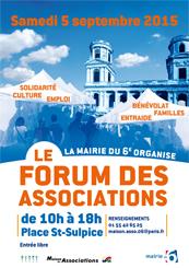 Affiche Forum Asso 6ème